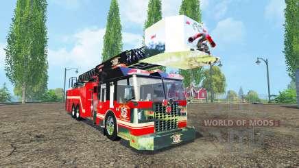 Пожарная машина для Farming Simulator 2015