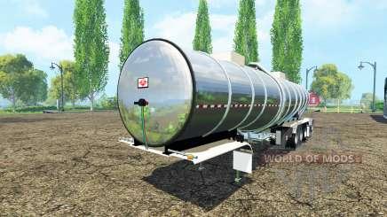 Полуприцеп цистерна для Farming Simulator 2015