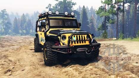 Jeep Wrangler для Spin Tires