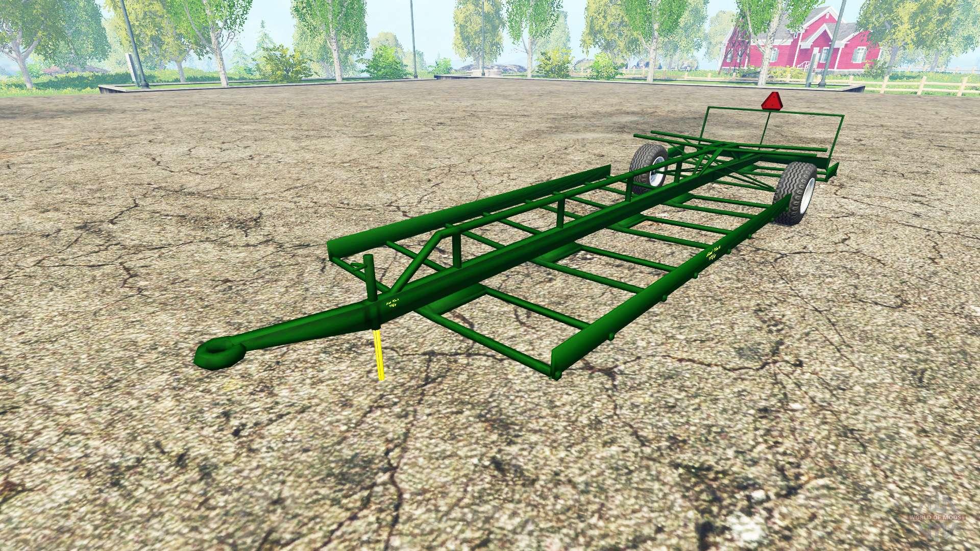 скачать моды farming simulator 2015 прицеп для тюков подборщик
