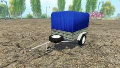 Car trailer для Farming Simulator 2015
