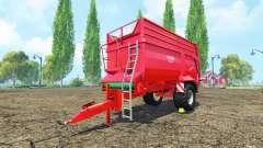 Krampe Bandit 550 v1.1 для Farming Simulator 2015