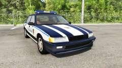 Ibishu Pessima Serbian Police для BeamNG Drive