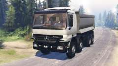 Mercedes-Benz Actros (MP2) 8x8 v0.9 для Spin Tires