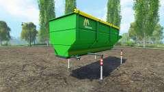 Gustrower GTU 25 для Farming Simulator 2015