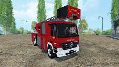 Mercedes-Benz Actros 4141 Belgian Fire Truck