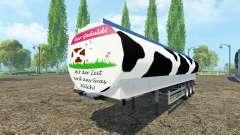 Молоковозный полуприцеп Fliegl v0.9 для Farming Simulator 2015