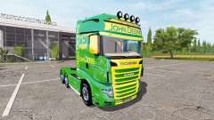 Scania R700 Evo John Deere