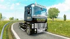 Скин Rockstar Energy на тягач Renault Magnum