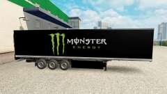 Скин Monster Energy на полуприцеп