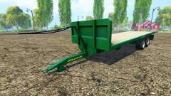 Zaccaria для Farming Simulator 2015