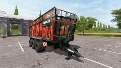 JOSKIN DRAKKAR 8600 flame для Farming Simulator 2017