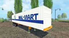 Container trailer для Farming Simulator 2015