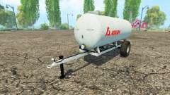 Agram water trailer для Farming Simulator 2015