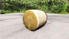 Круглый тюк для BeamNG Drive