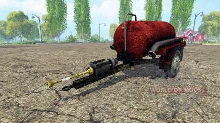 Tank manure для Farming Simulator 2015