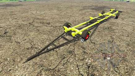 Прицеп для жатки CLAAS для Farming Simulator 2015