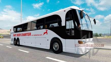 Сборник автобусов для трафика v1.1 для American Truck Simulator