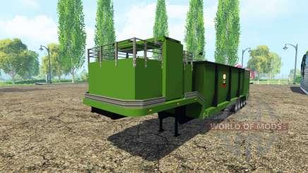 Щепорубительный полуприцеп для Farming Simulator 2015