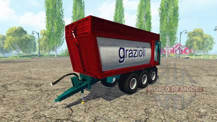 Grazioli Domex 200-6 v2.0 для Farming Simulator 2015