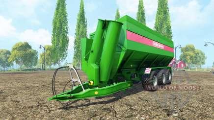 BERGMANN GTW 430 v1.1 для Farming Simulator 2015