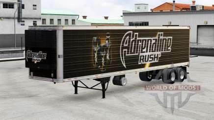 Скины напитков на полуприцеп для American Truck Simulator