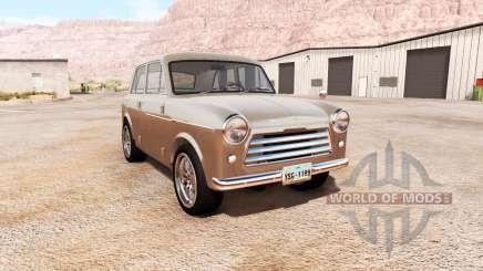 Satsuma 210 1958 v2.0 для BeamNG Drive