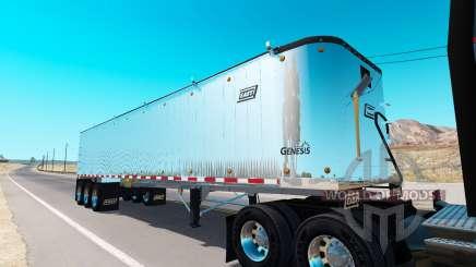Самосвальный полуприцеп для American Truck Simulator