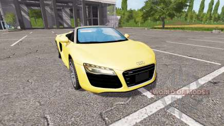 Audi R8 V10 Spyder v1.2 для Farming Simulator 2017