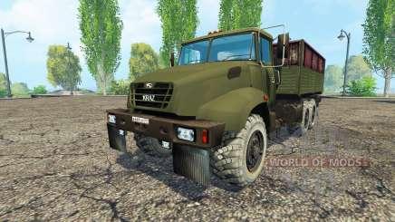 КрАЗ В18.1 v1.1 для Farming Simulator 2015