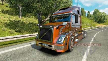 Volvo VNL 670 v5.0 для Euro Truck Simulator 2