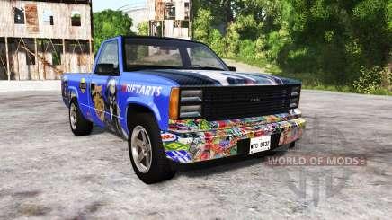 Gavril D-Series wo-class itasha для BeamNG Drive