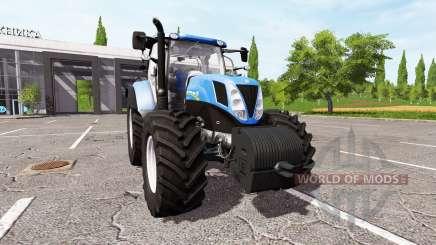 New Holland T7.185 для Farming Simulator 2017