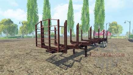 Лесовозный полуприцеп для Farming Simulator 2015