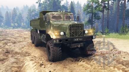 КрАЗ 255 для Spin Tires