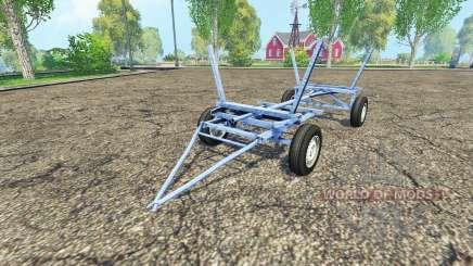 Homemade small trailer для Farming Simulator 2015