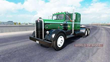 Скин Palmer Trucking LLC на тягач Kenworth 521 для American Truck Simulator