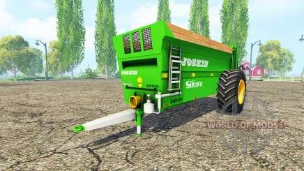 JOSKIN Siroko 4010-9V v2.0 для Farming Simulator 2015