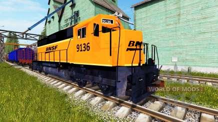 BSNF Train для Farming Simulator 2017