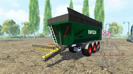 Ravizza Millenium 7200 v2.0 для Farming Simulator 2015