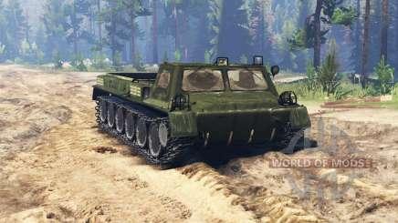 ГАЗ 71 (ГТ СМ) v0.5.5 для Spin Tires