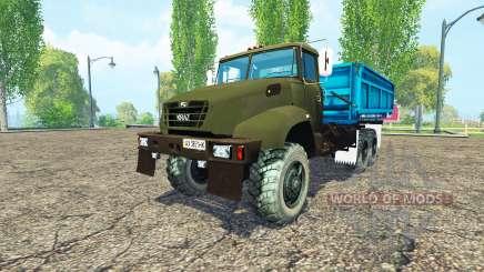 КрАЗ В18.1 сельхозник для Farming Simulator 2015