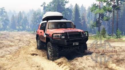 Toyota FJ Cruiser Экспедиция для Spin Tires