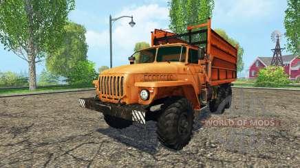 Урал 5557 сельхозник для Farming Simulator 2015