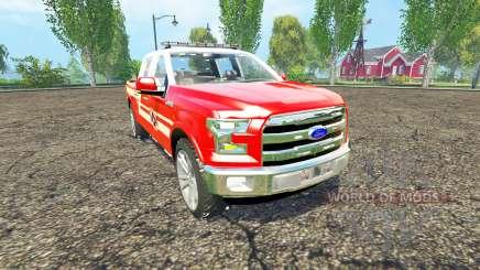 Ford F-150 Division of Fire для Farming Simulator 2015