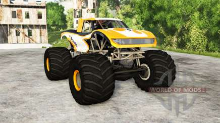 CRD Monster Truck v1.01 для BeamNG Drive