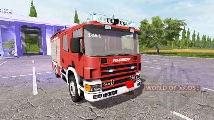 Scania 94D 260 Feuerwehr для Farming Simulator 2017