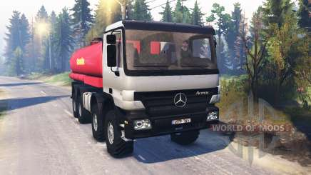 Mercedes-Benz Actros (MP2) 8x8 v1.0 для Spin Tires