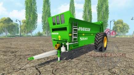 JOSKIN Siroko 4010-9V для Farming Simulator 2015