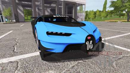Bugatti Vision Gran Turismo для Farming Simulator 2017